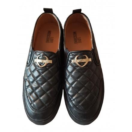 MOSCHINO LOVE Flache Schuhe Turnschuhe 39