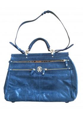 CAVALLI Tasche blau