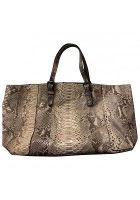 GERARD DAREL Python Snakeskin Handtasche