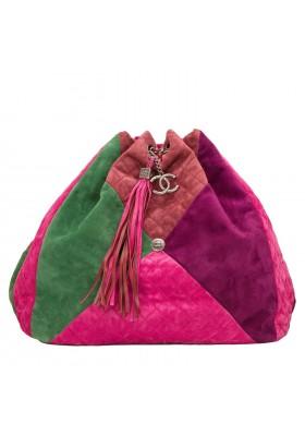 Chanel Patchwork Backpack Rucksack
