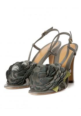 Kallisté Blumen Sandaletten