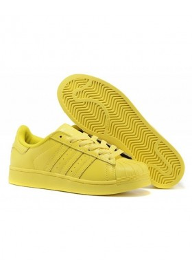 ADIDAS by PHARELL WILLIAMS Superstar Sneaker gelb