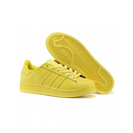 ADIDAS by PHARELL WILLIAMS Superstar Sneaker gelb