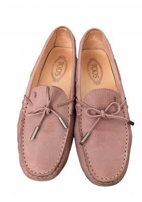 Tods Mokassins Gr. 40 Rose
