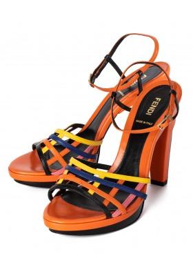 Fendi Sandaletten orange
