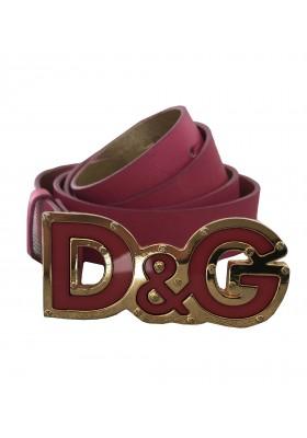 D&G Dolce & Gabbana Gürtel Pink