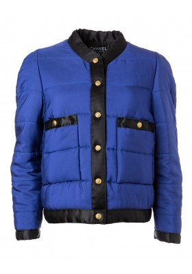 CHANEL Seidensteppjacke