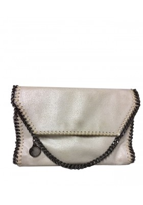 STELLA MC CARTNEY Falabella Shaggy Deer Schultertasche
